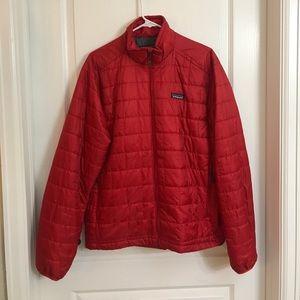 Patagonia Men's Nano Puff Jacket // Red // Size M